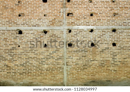 cracked concrete vintage wall background,old wall #1128034997