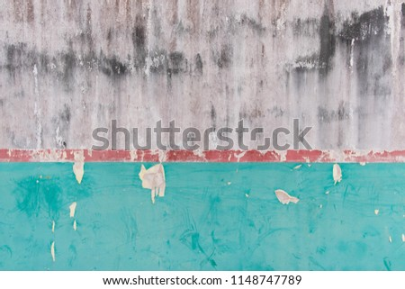 cracked concrete vintage wall background,old wall  #1148747789
