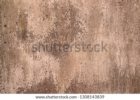 cracked concrete vintage wall background,old wall  #1308143839