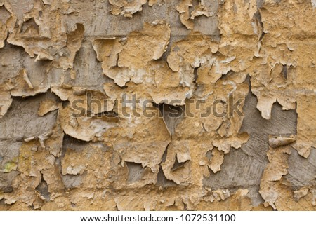 cracked concrete vintage wall background,old wall background #1072531100