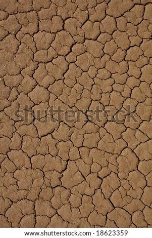 Cracked desert surface background
