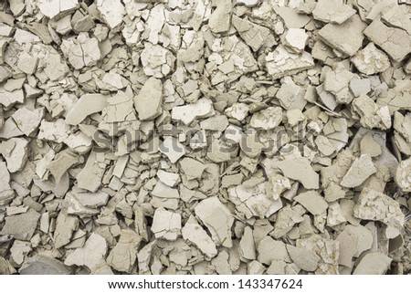 Cracked dry ground texture