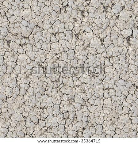 Cracked ground seamless pattern.