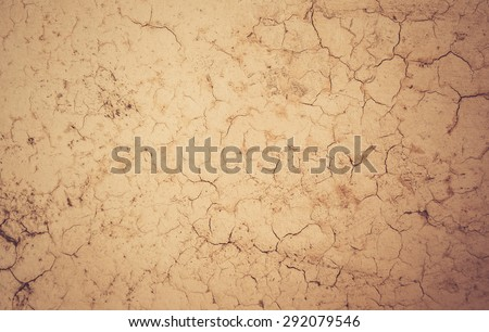 Cracked ground texture background in vintage style #292079546