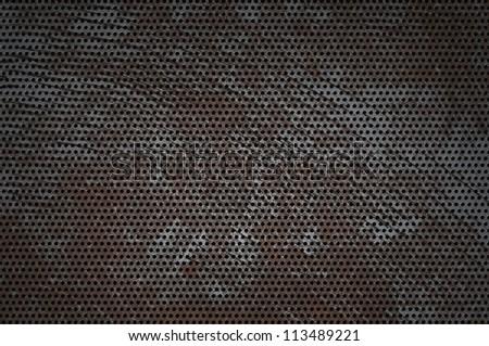 cracked hole metal texture. grunge background