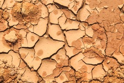 cracked mud ground texture background