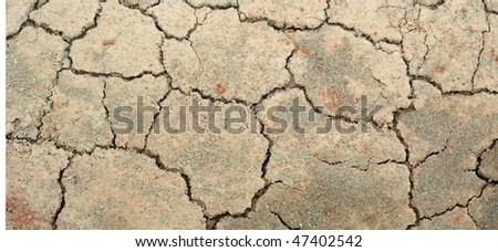Cracked soil - pattern / background