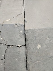 Cracks from large and coarse