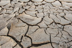 cracks in the ground, deep crack, cracked desert landscape, effects of heat and drought. effects of global warming, texture background