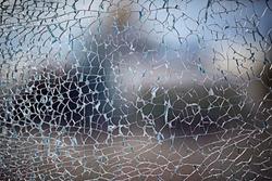 cracks on glass texture broken glass transparent