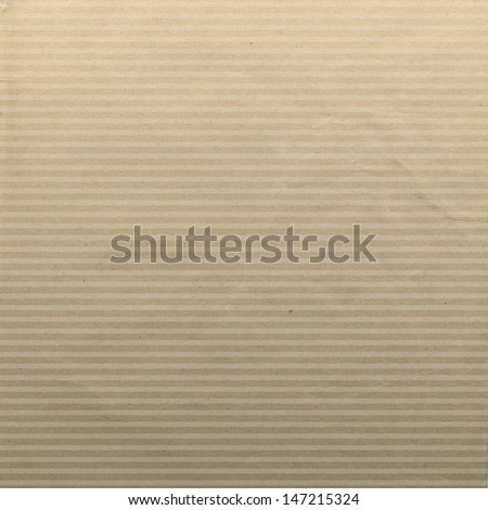 Craft paper texture with lines. Abstract colored paper background.