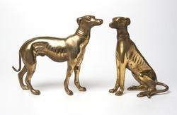 Crafts Brass dogs