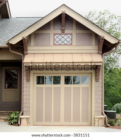 Craftsman style garage transportation storage stock for Craftsman style garage
