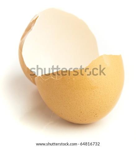 crash egg isolated on a white background