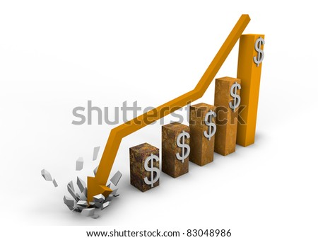 Crashing dollar graph