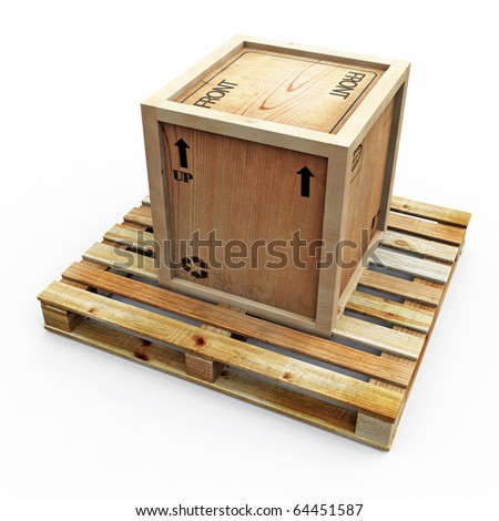 Crate on Pallet