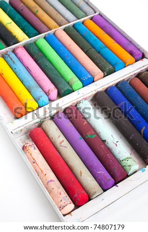 Crayon for background