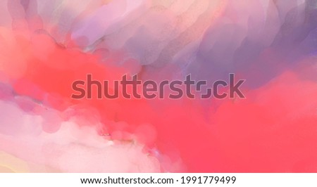 Crazy watercolor random pattern. Creative abstraction. Modern art painting. 2d illustration. Digital texture wallpaper. Artistic watercolored backdrop material.