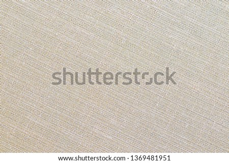 Cream fabric texture for background