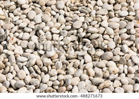 Creamy rock pattern