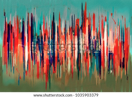 creative abstract art for interior design and creative direction for film and art gallery. #1035903379