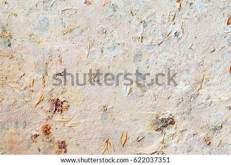 Creative abstract hand painted background, wallpaper, texture. Abstract composition for design elements. Close-up fragment of acrylic painting on canvas with brush strokes. Abstract art background #622037351