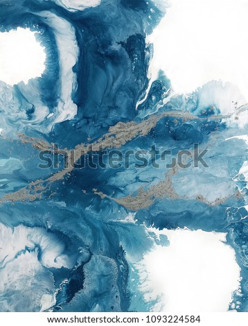 Creative abstract hand painted background, wallpaper, texture, close-up fragment of acrylic painting on canvas. Modern art. Contemporary art. Fluid art.