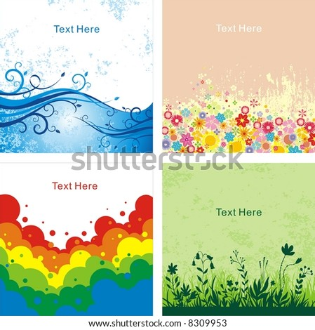 creative background - stock photo