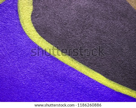 Creative background for ads, banners, holiday cards. Conceptual indigo, bronze and medium purple fashion background. #1186260886