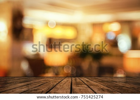 creative background with wooden ...