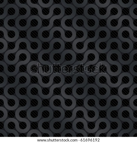 Creative Carbon Flow Background (seamless pattern)