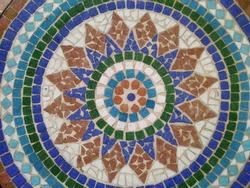 creative Colourful design mozaic art