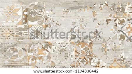 creative decor, wall tiles design, creation of  ceramic tiles, artful design, floor tiles, rustic texture,