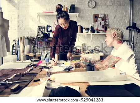 Creative Design Dress Fashion Trend Stylish Concept - Shutterstock ID 529041283