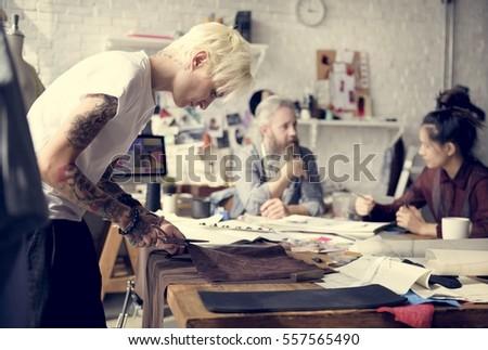 Creative Design Dress Fashion Trend Stylish Concept - Shutterstock ID 557565490