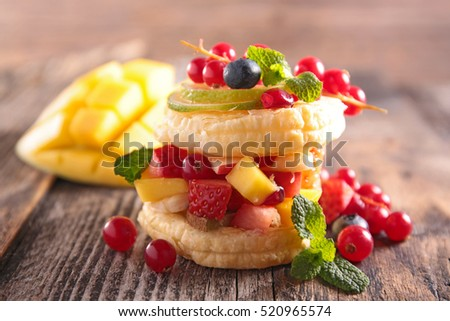 creative fruit dessert #520965574