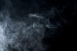 Creative  grey smoke.  Abstract fog