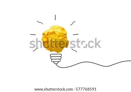 creative idea.concept idea and...
