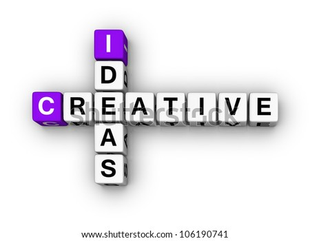 Creative Ideas  (cubes crossword series)