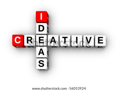 Creative Ideas (3D cubes crossword series)