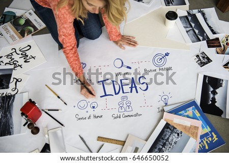 Creative Ideas Identity Product Develop Design #646650052