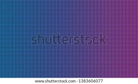 Creative illustration of led screen macro texture isolated on background. Art design rgb diode seamless pattern. Abstract concept graphic television projection display element.