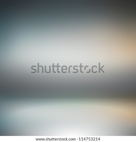 Creative technological spotlight background. Inside an empty studio room