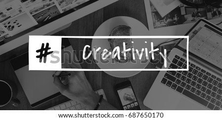 Creativity Ideas Creative Thinking Concept #687650170