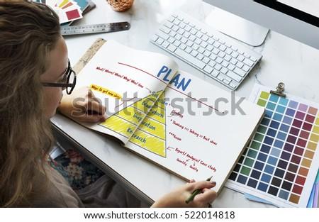 Creativity Innovation Plan Strategy Concept - Shutterstock ID 522014818