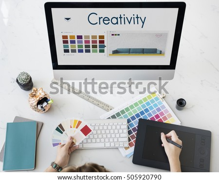 Creativity Inspiration Design Logo Concept #505920790