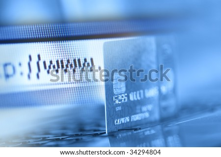 Credit card and internet browser
