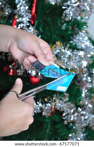 Credit card is cuting because of loan on Christmas