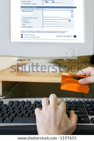 Credit card online payment