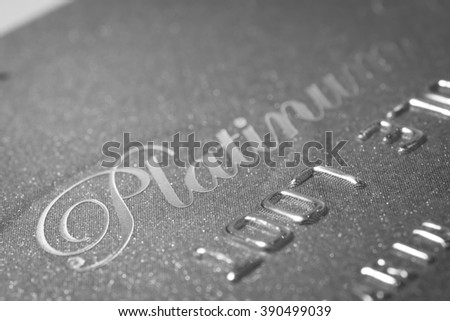 Credit Card Platinum background  #390499039